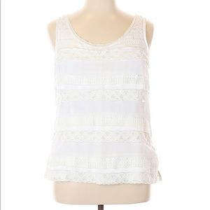White House Black market lace top